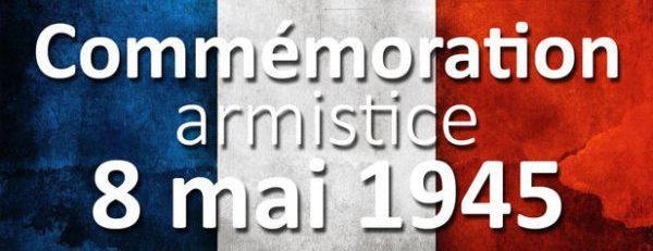 Commemoration du 8 mai 1945