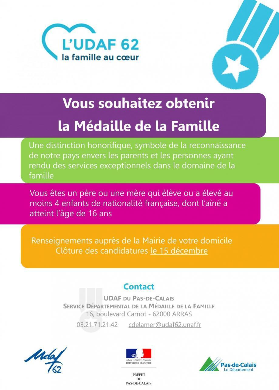 Medaille affiche