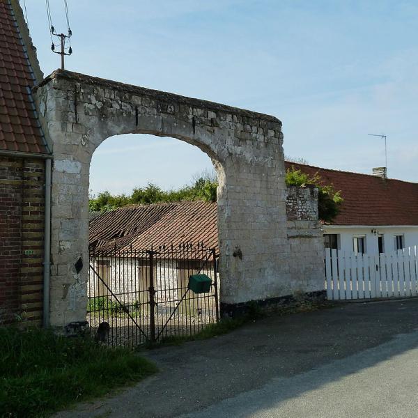 Morighem porche date de 1615
