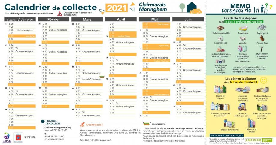 Moringhem collecte 2021 1