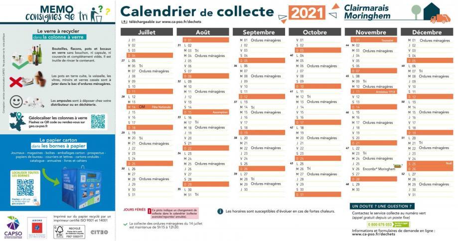 Moringhem collecte 2021 2